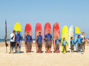 Surfschool and surf lessons in El Palmar